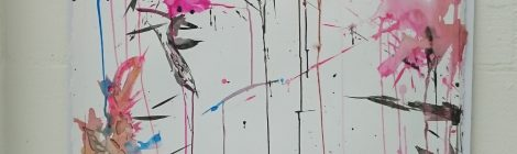 ....if I were Cy Twombly...